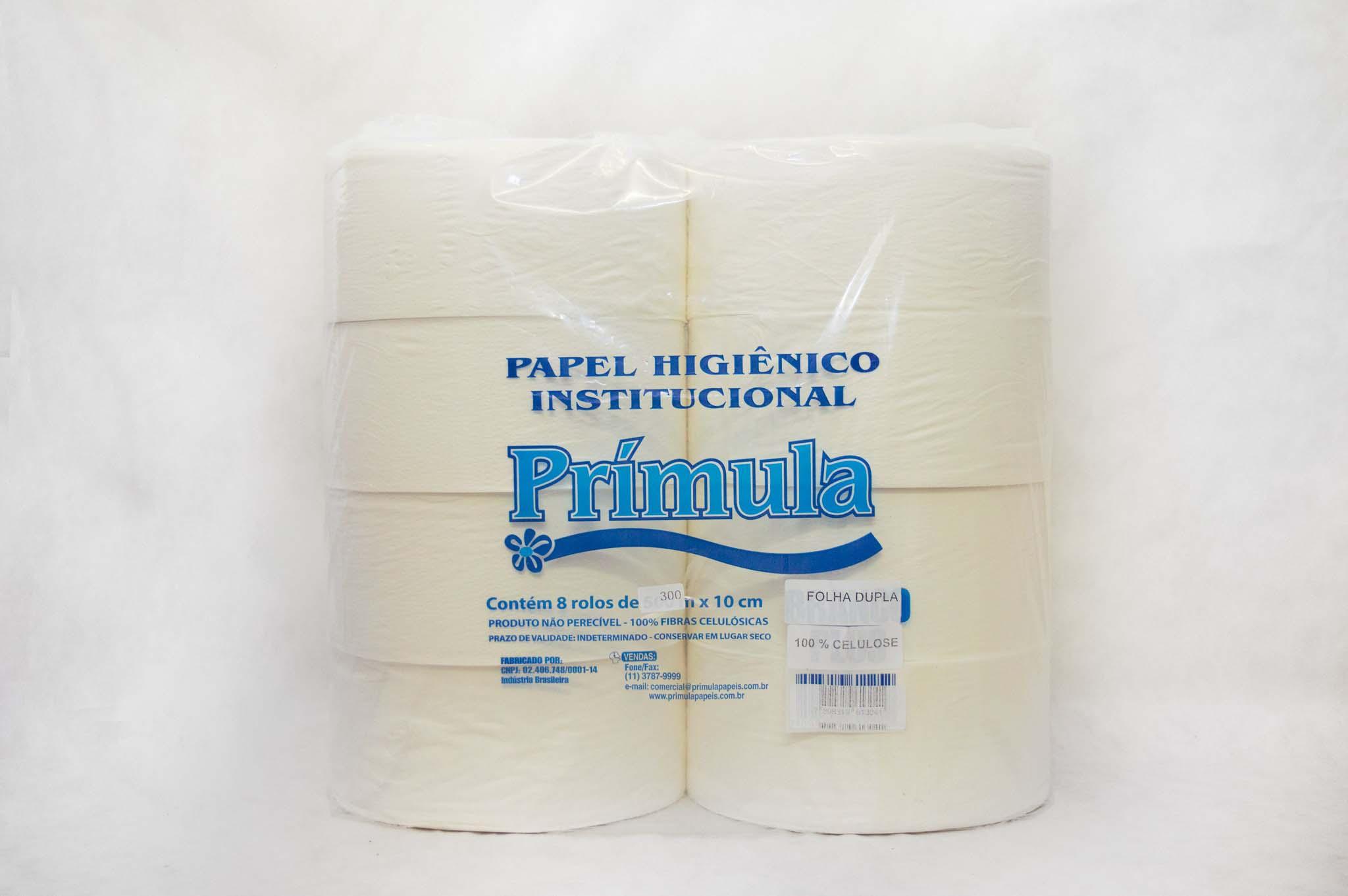 Distribuidor de papel higiênico folha dupla