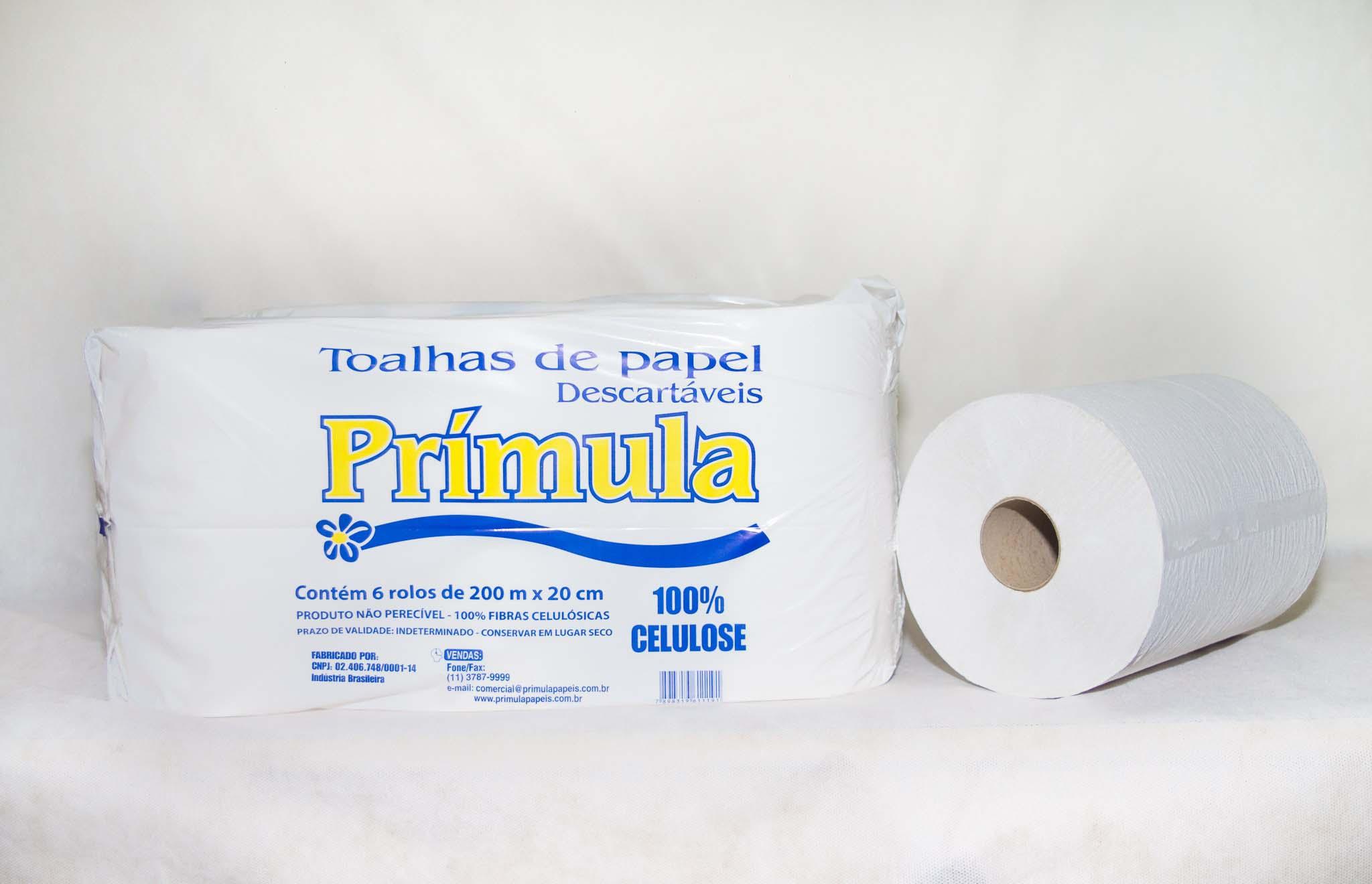 Distribuidora de papel toalha bobina